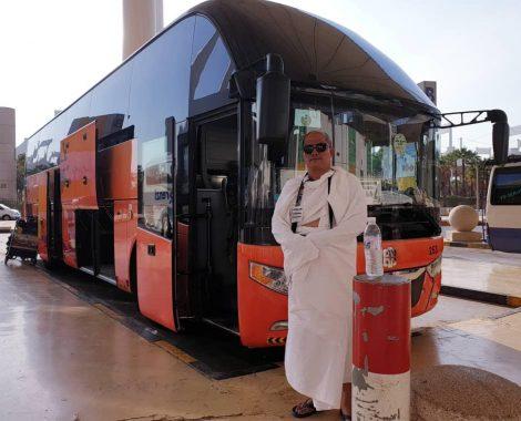 Ketibaan di Jeddah 3-Bas